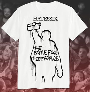 Image of [shirt] battle for those angles (white)