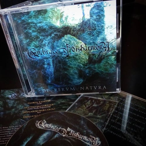 "Image of EMBRACE OF DISHARMONY ""De Rervm Natvra"" CD"