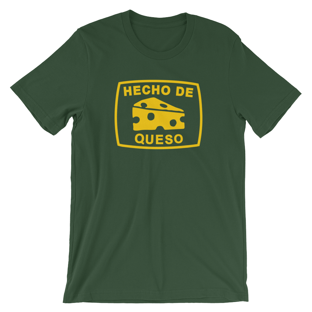 Image of HECHO DE QUESO (GREEN+GOLD)