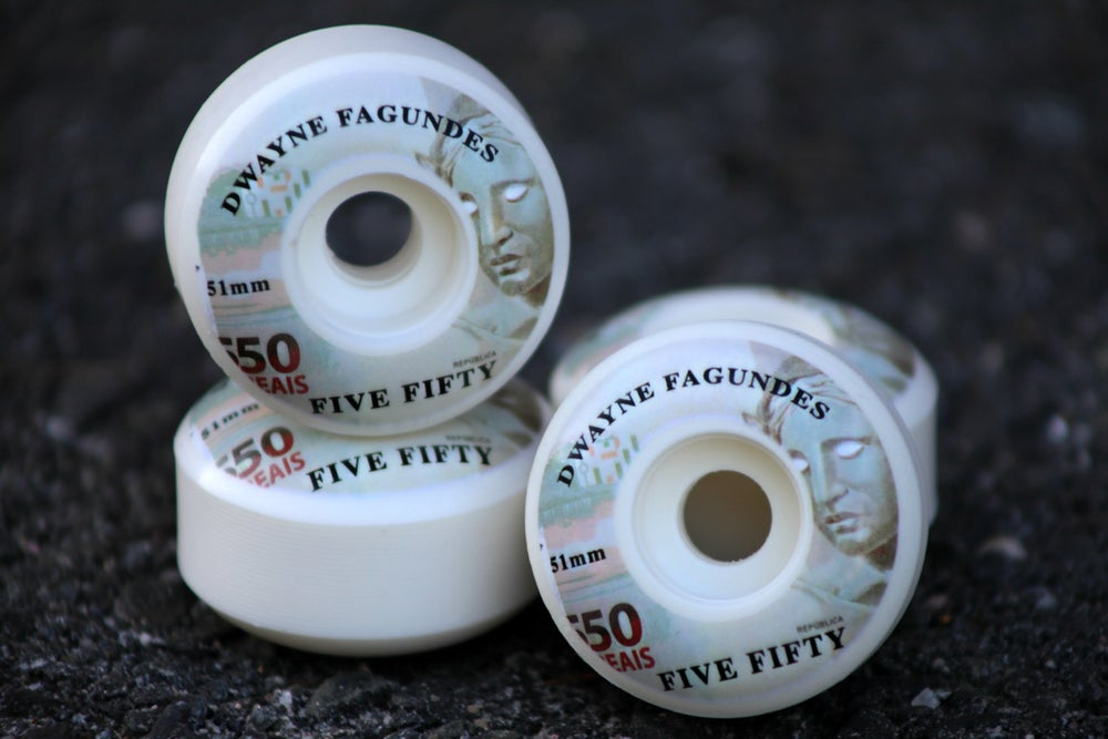 Image of Dwayne Fagundes - 550 Reais 51mm