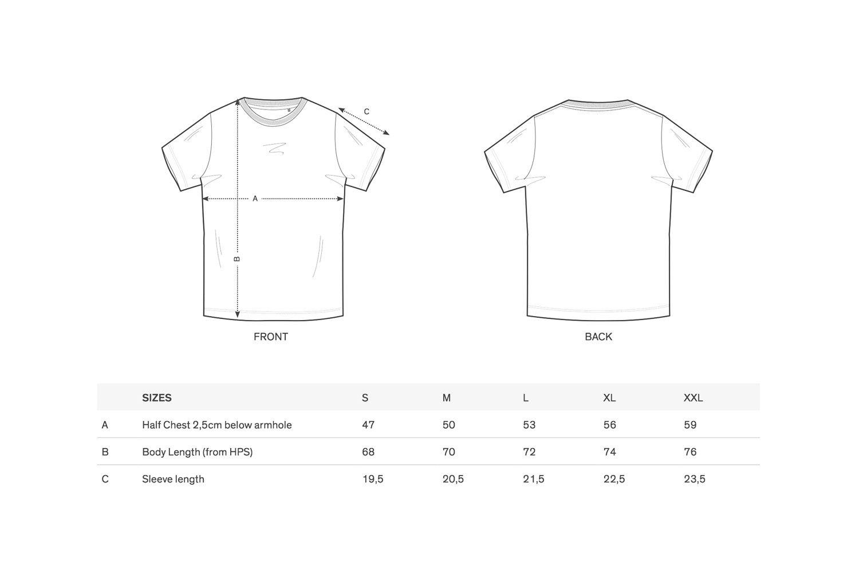 Image of Ramontik T-Shirt // Unisex // Schwarz mit gesticktem Logo