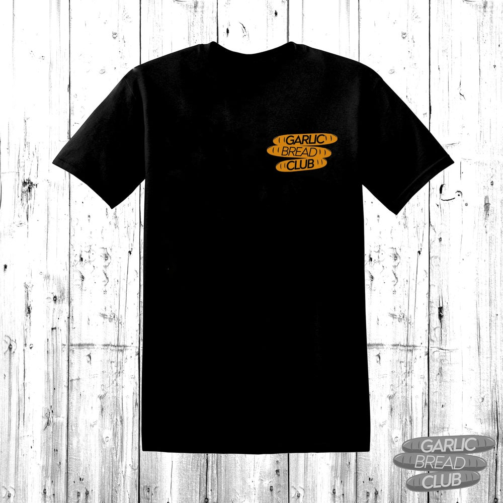 Image of Garlic Bread Club Shirt Black