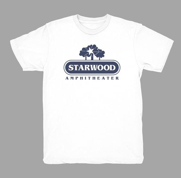 Image of Original Starwood - (White w/NAVY print)