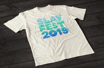 Image of White SLAYFEST 2019 Tee