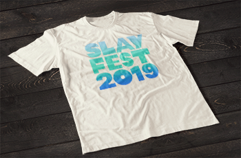 Image of White SLAYFEST 2019 Tee