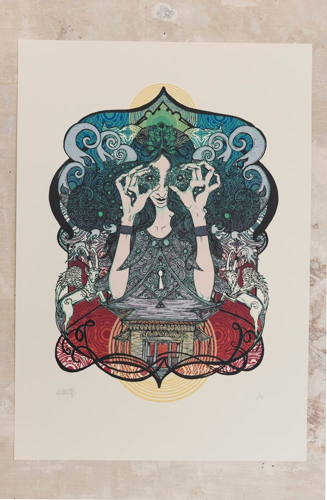 "Image of ""Soul Temple"" ArtPrint"