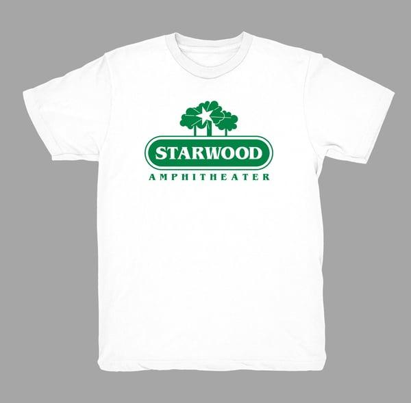 Image of Original Starwood - (White w/Green Print)