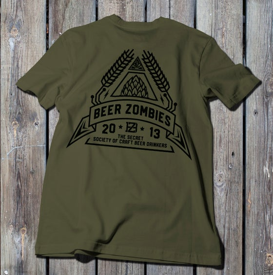 Image of Beer Zombies - Secret Society - Tshirt