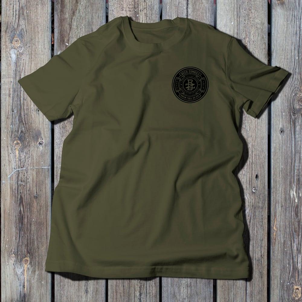 Beer Zombies - Secret Society - Tshirt