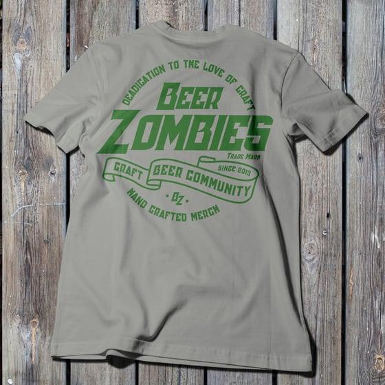 Image of Beer Zombies - Craft Beer Community - Tshirt