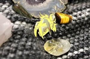 Image of BLACK TAR Enamel Pin