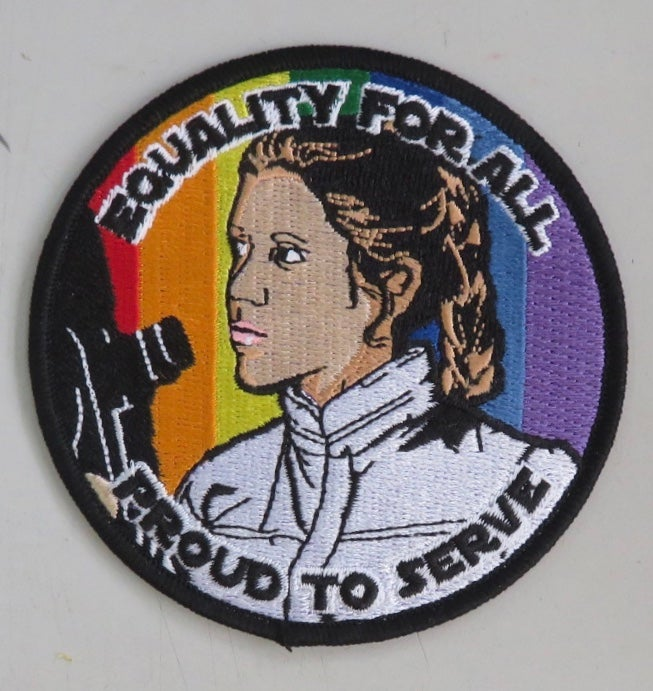 "Image of Leia Equality for All 3.5"" Patch"