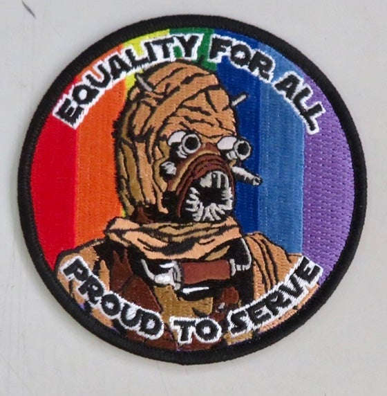 """Image of Tusken Raider Equality for All 3.5"""" Patch"""
