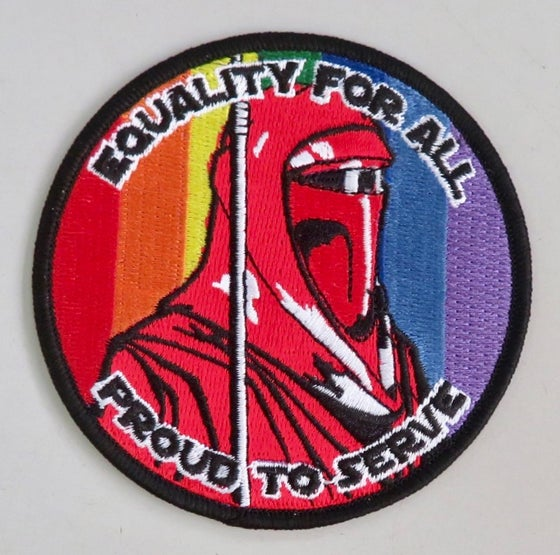 "Image of Emperors Royal Guard Equality for All 3.5"" Patch"