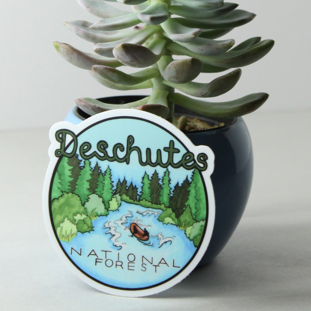 Image of Deschutes National Forest sticker