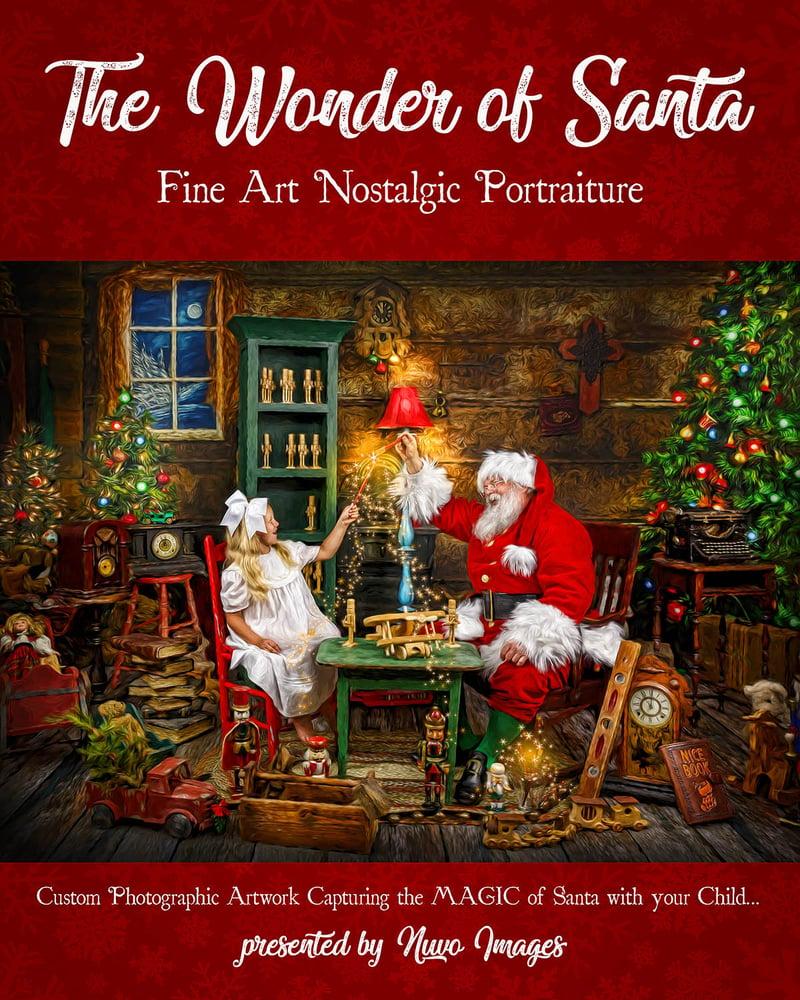 Image of Wonder of Santa Portrait Session Reservation Fee