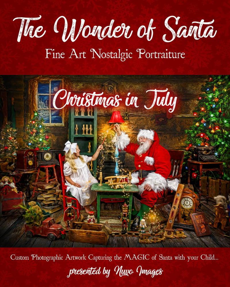 Image of Christmas in July Wonder of Santa Order Deposit Fee | July 25th, 2020