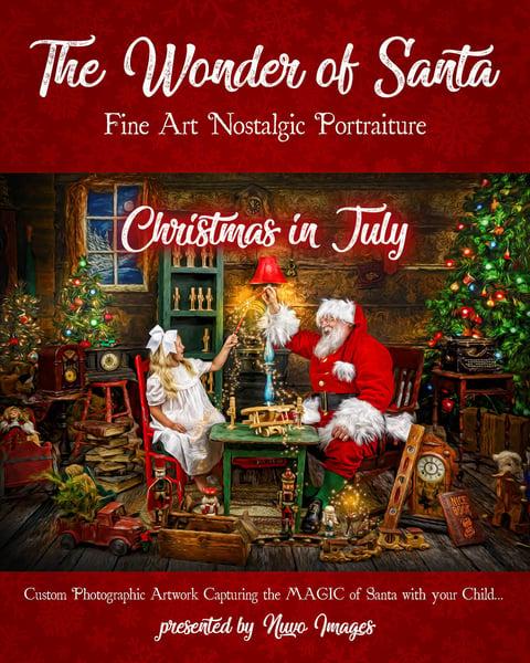 Image of Christmas in July Wonder of Santa Order Deposit Fee   July 25th, 2020