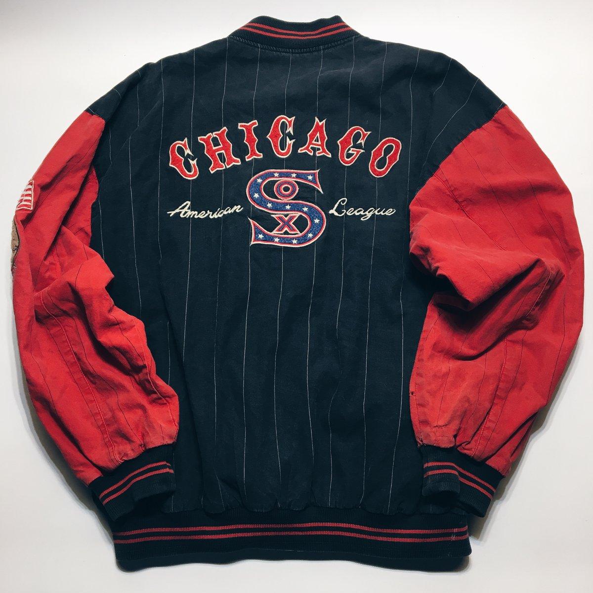 Image of Original 1991 Mirage Sports Chicago Sox Jacket.