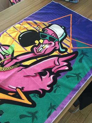 Image of Flamingo Towel II