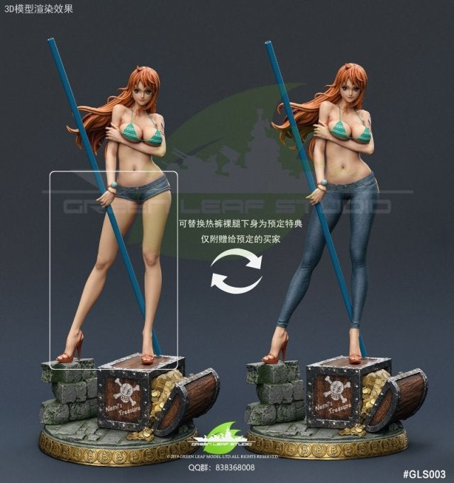 Image of [Pre-Order] One Piece Green Leaf Studio 1/4 Nami GK Resin statue