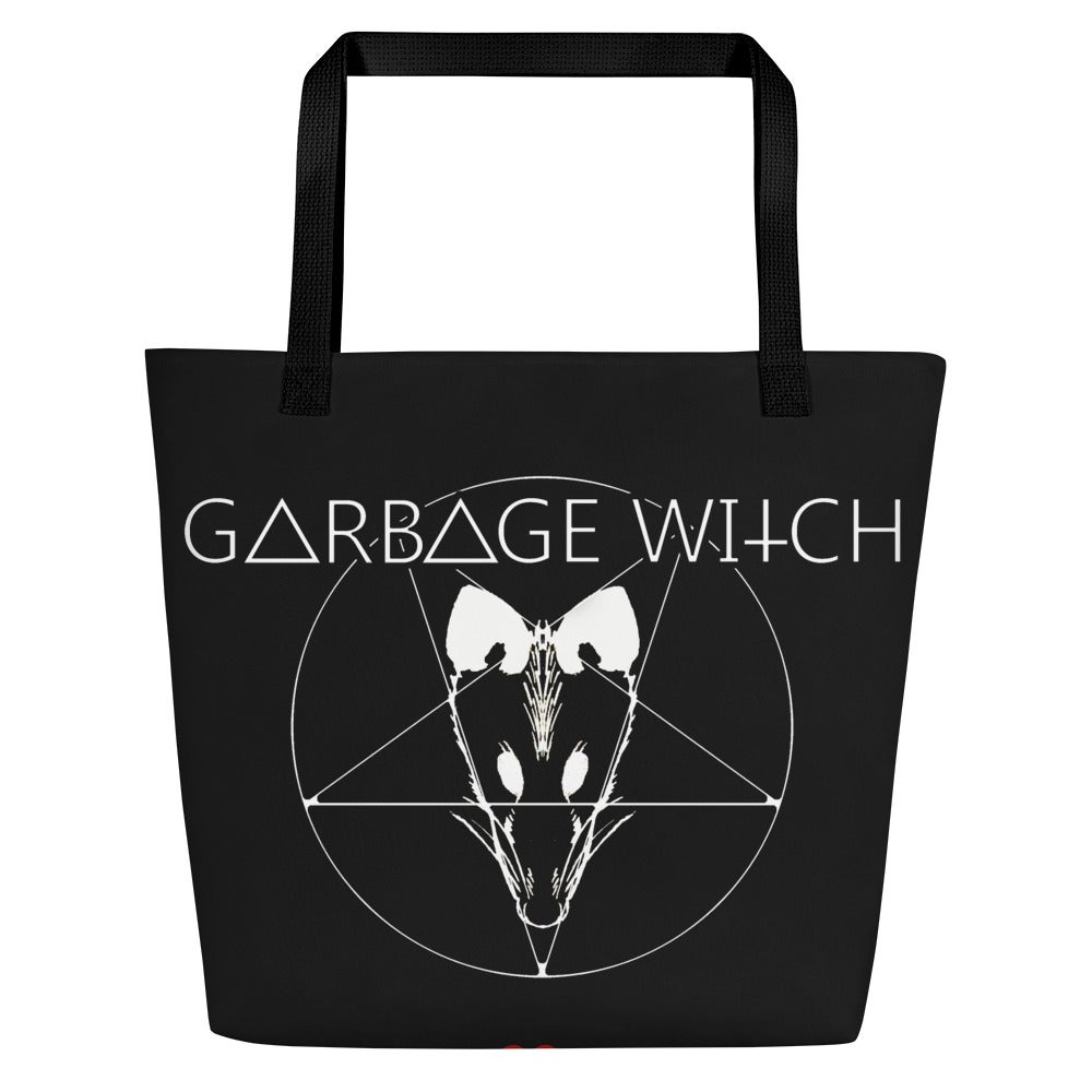 Garbage Witch Beach Bag