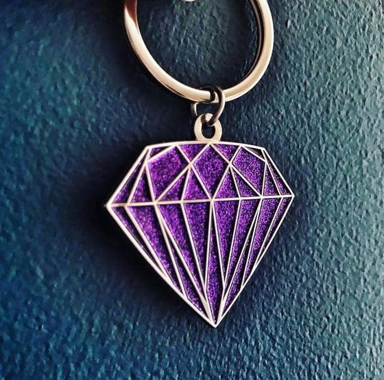 Image of Diamond Run Keyring