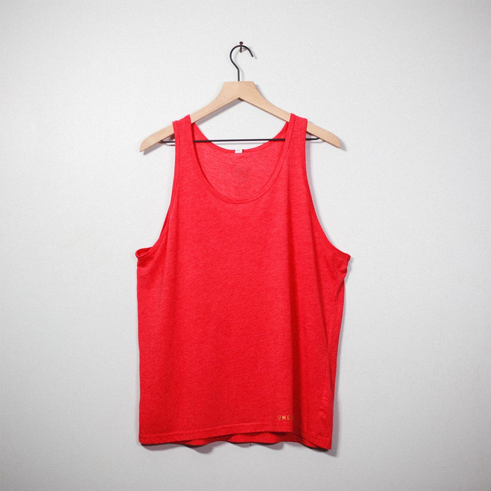 Image of Lion Soul Tank Top (Red)