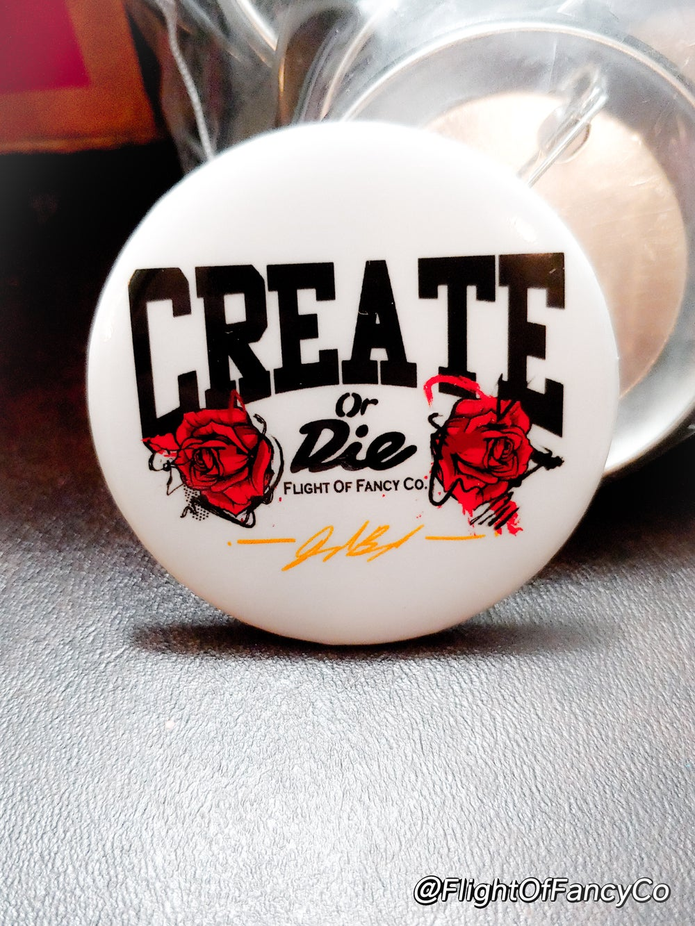 Heavy ARTillery and CREATE OR DIE Buttons