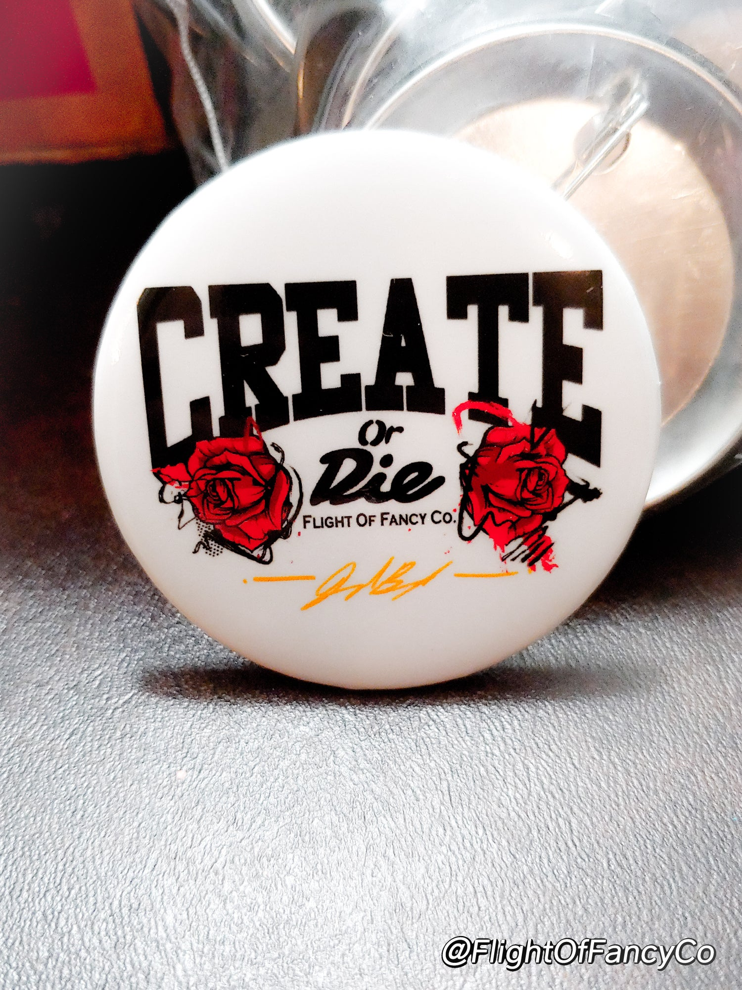 Image of Heavy ARTillery and CREATE OR DIE Buttons
