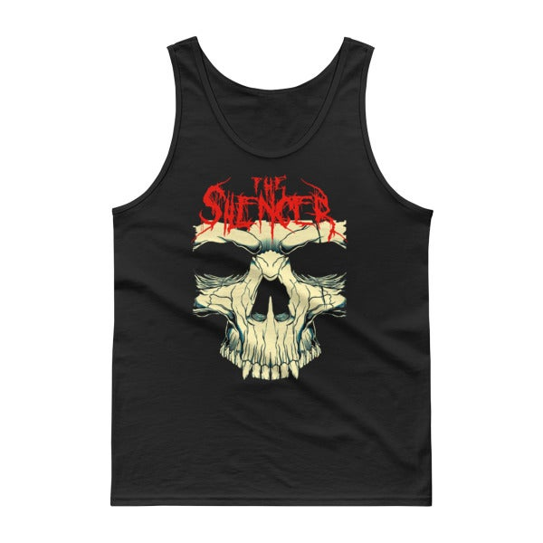 Image of The Silencer Skull Tank Top