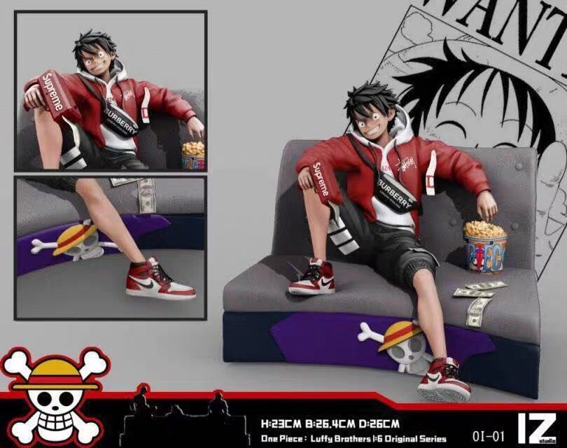 Image of [Pre-Order] One Piece IZ Fashion Studio Series 01 Luffy Resin Statue