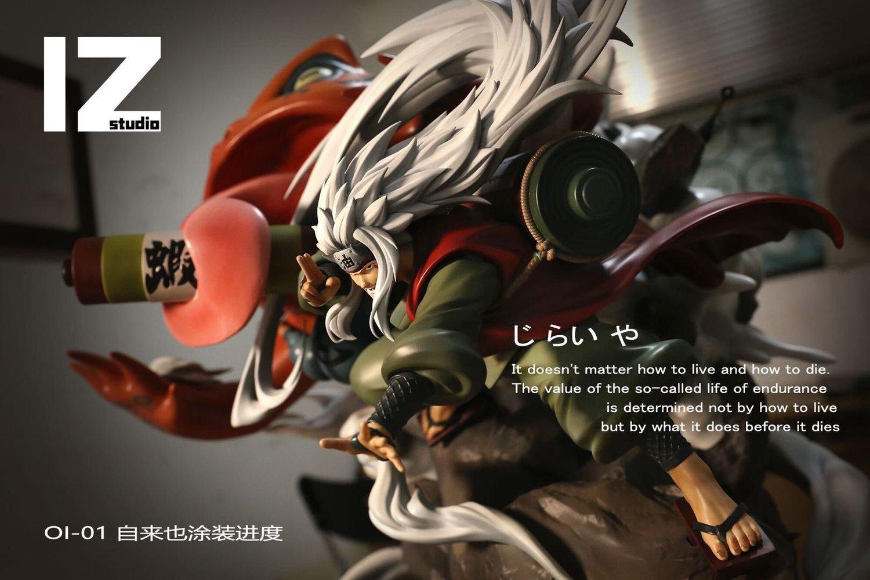 Image of [Pre-Order] Naruto IZ Studio Jiraya Resin Statue