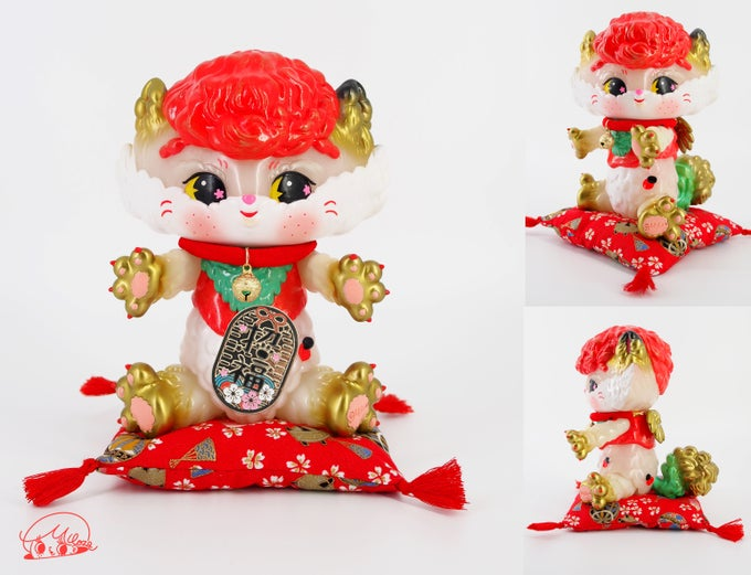 Image of Angel Cat's  'GID Lucky Cat'Ver.