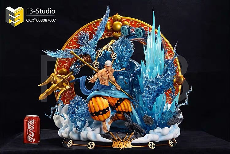 Image of [Pre-Order] One Piece F3 Studio Enel Resin Statue