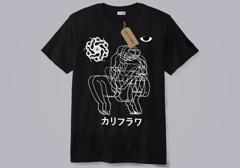 "Image of Karifurava ""fatty""  t-shirt"