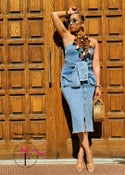 Image of Becca Denim Dress