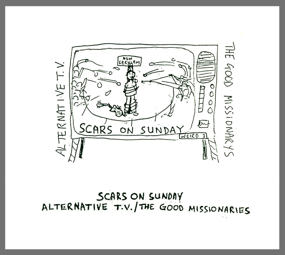 Image of Alternative TV 'Scars On Sunday' CD