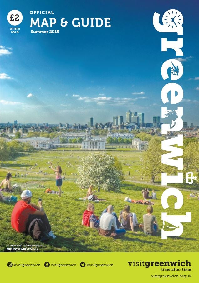 Image of Greenwich Map & Guide: Summer 2019