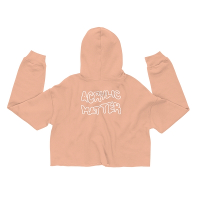 Image of OUTLINE CROP HOODIE