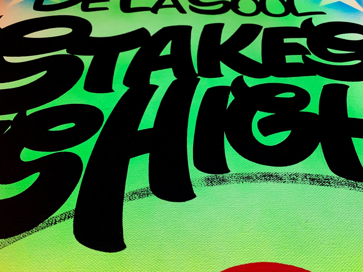 """Image of 18"""" x 24"""" - Stakes is High"""