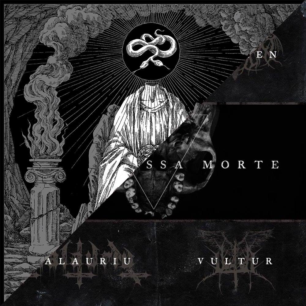 "Image of BUNDLE: ""Twin Serpent Dawn"" Mini-cdr +  ""Teschi Ossa Morte"" 12"" black vinyl"