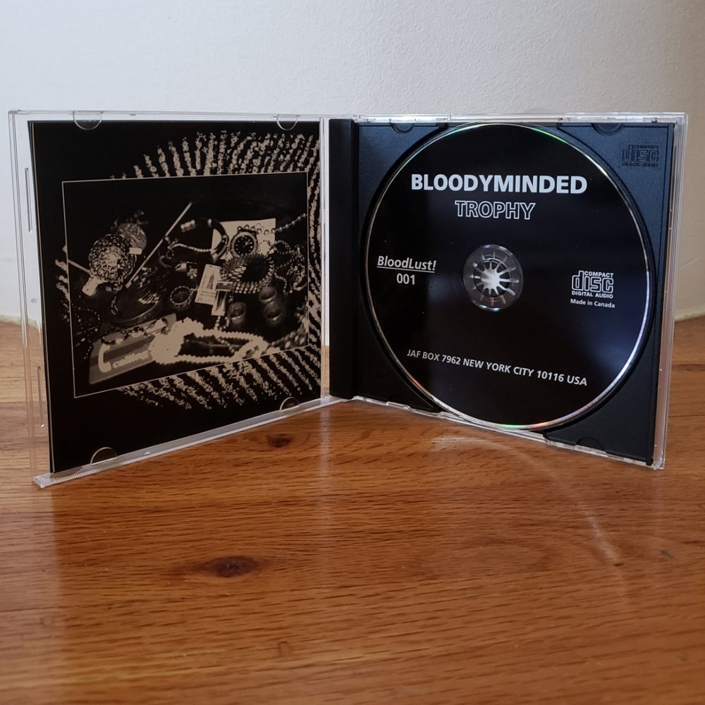 "B!001 BLOODYMINDED ""Trophy"" CD"