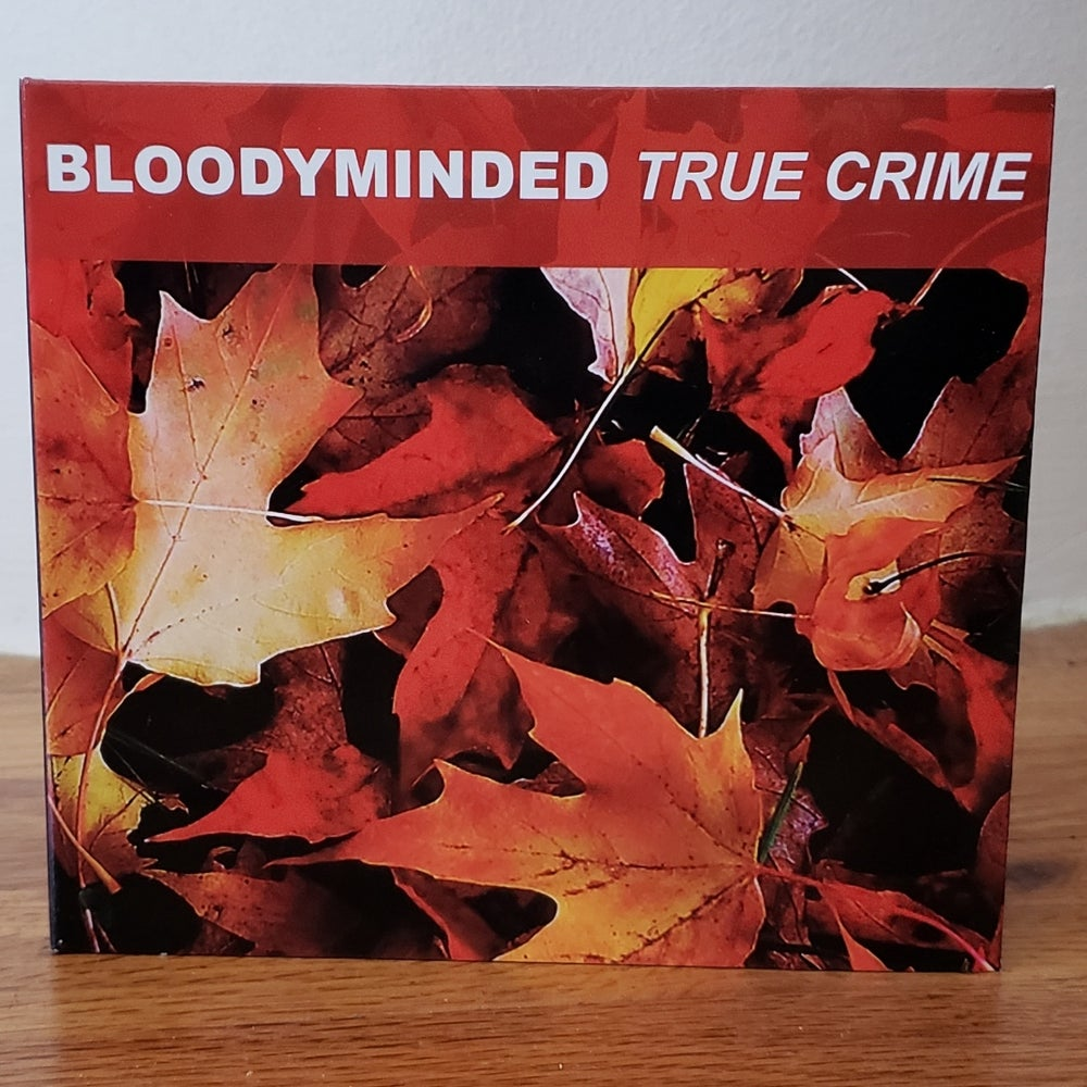 """B!040 BLOODYMINDED """"True Crime"""" CD (remaster)"""