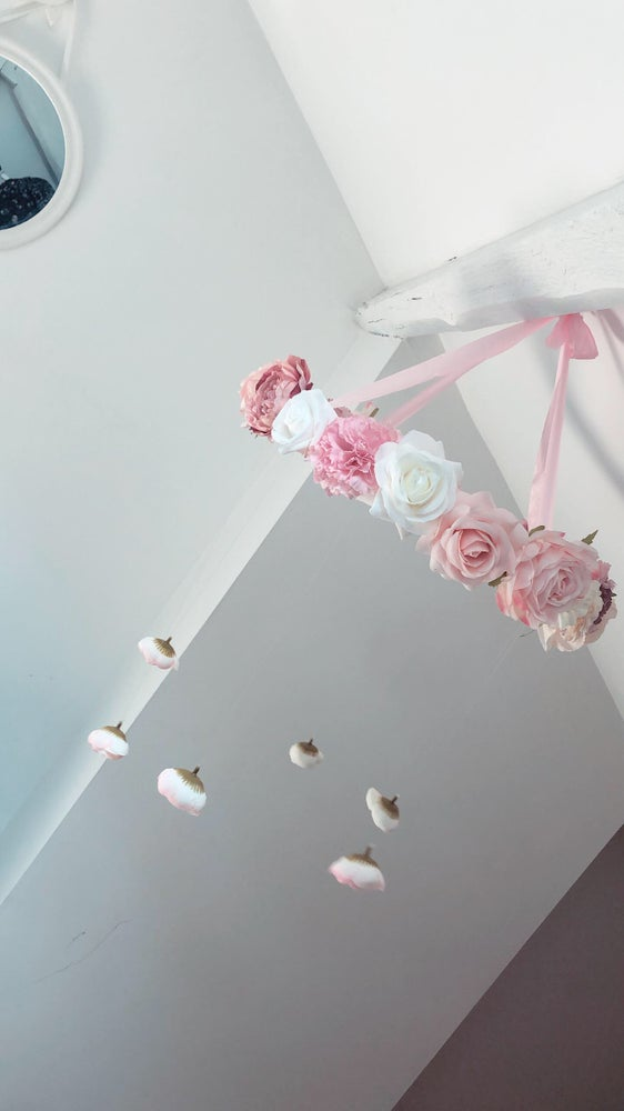 Image of Lustre fleuri 35cm