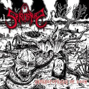 """Image of Sepulcral """"Anthropophagy of Doom"""" CD"""