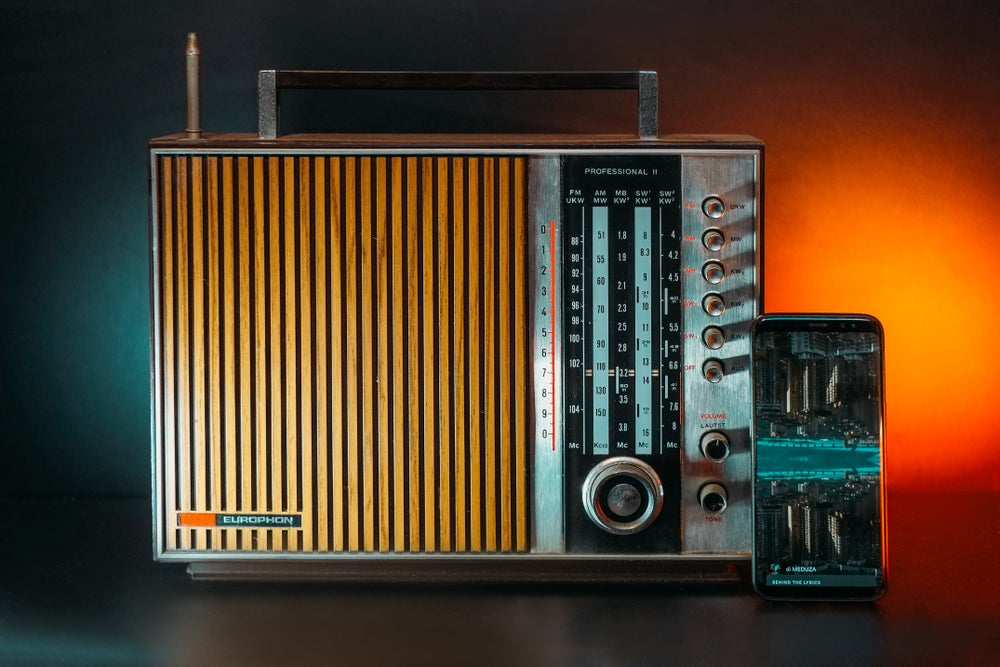 Image of EUROPHON PROFESSIONAL II (1972) RADIO VINTAGE BLUETOOTH