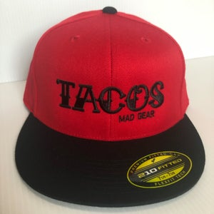 Image of TACOS -  Red & Black Fitted