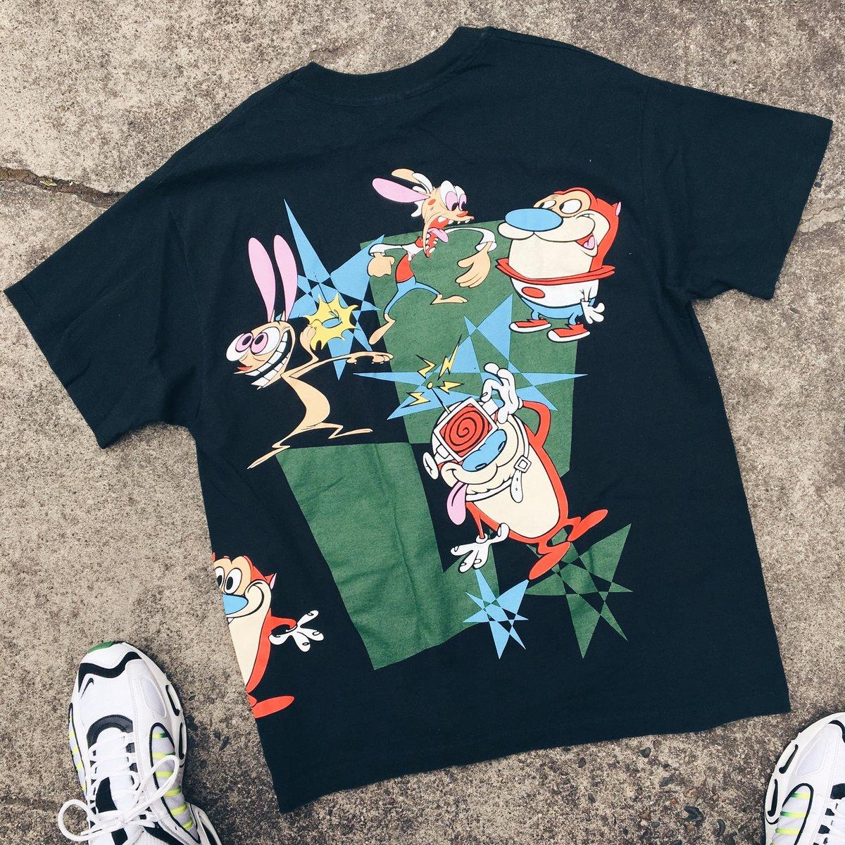Image of Original 1992 Ren and Stimpy Nickelodeon Tee.