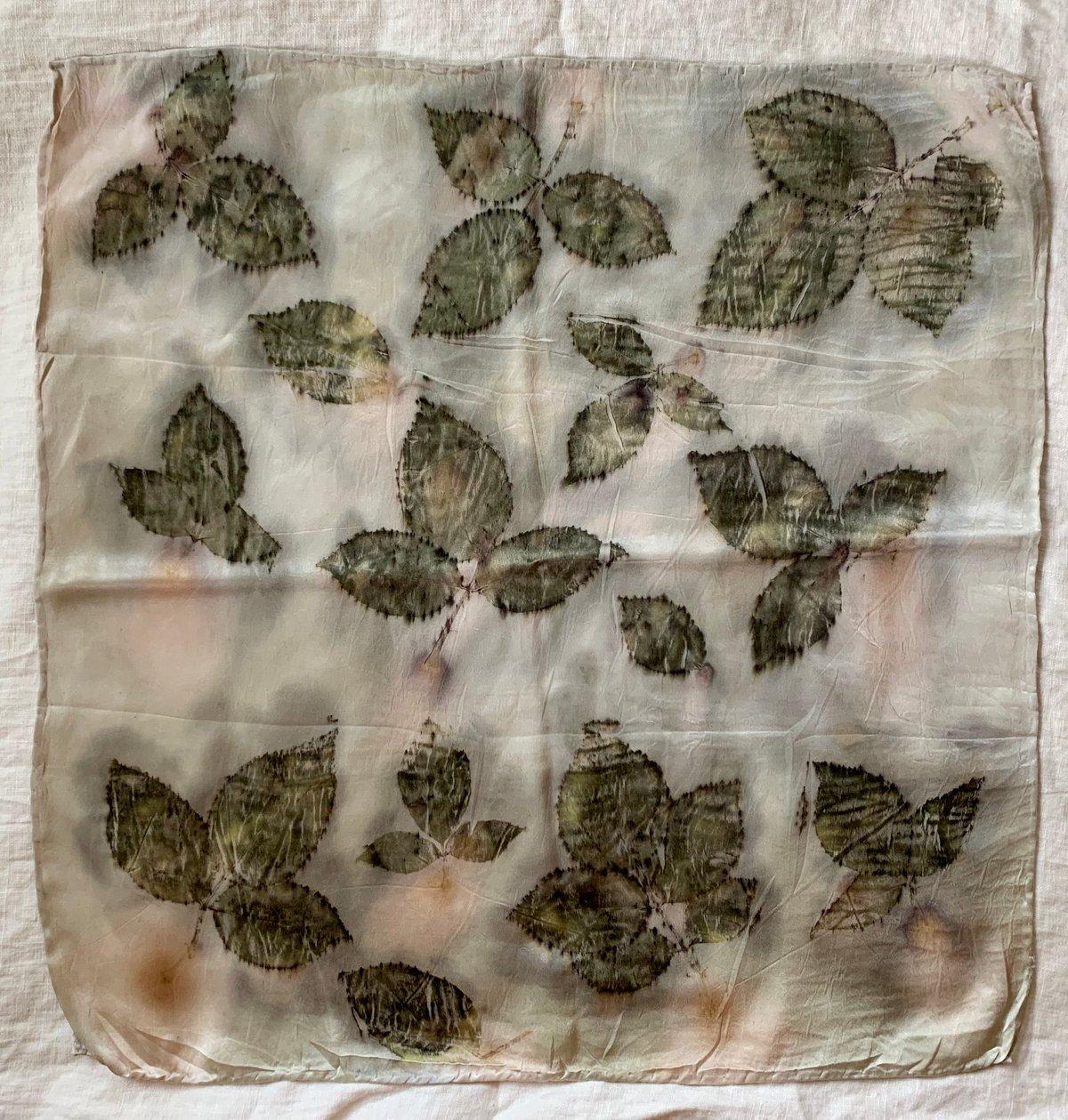 Image of Rose/Hau Eco-Print Bandana